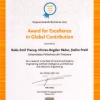 Award for Excellence in Global Contribution