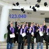 The number of graduated students from UPT